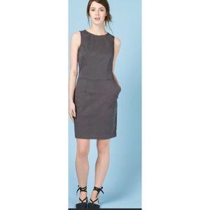 Boden Chino Sheath Tunic Dress Sz 8